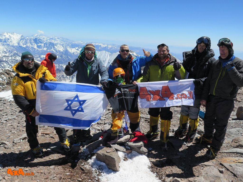 הטיפוס לפסגת אקנקגוואה 6,964 מ' Aconcagua
