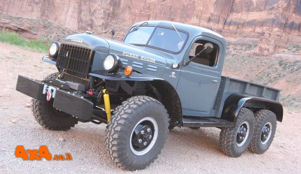 POWER WAGON עם הסבה להנעה 6X6