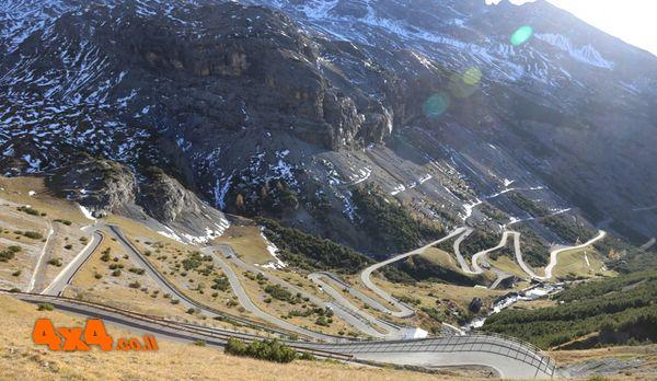 סטלביו מעבר ההרים המוטורי הגבוה בהרי האלפים