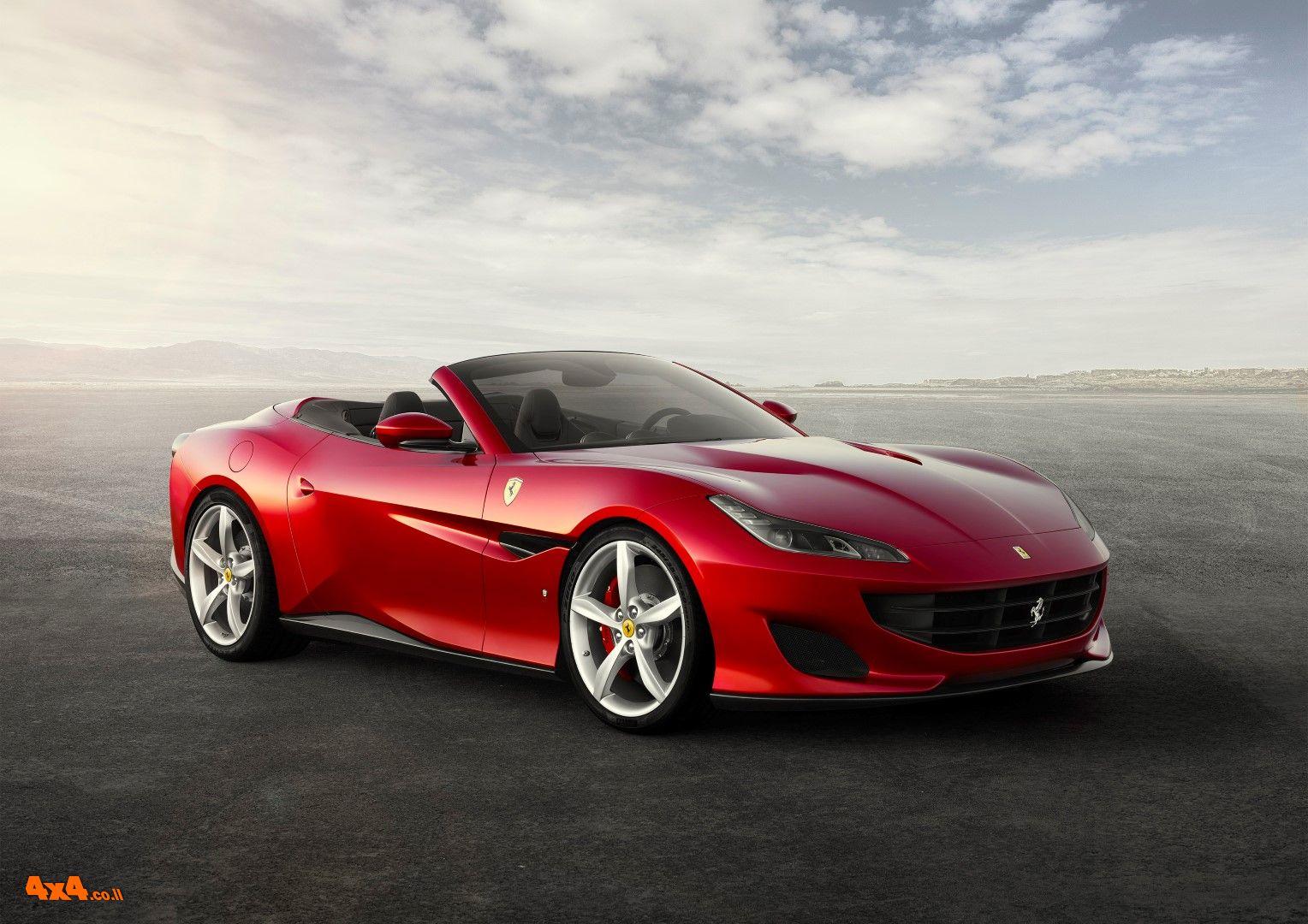 חדש על הכביש: פרארי פורטופינו Ferrari Portofino