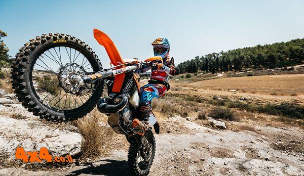 KTM השיקה בישראל אופנוע אנדורו דו