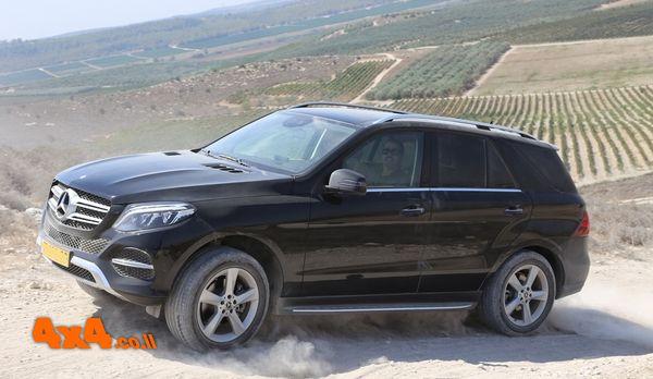 SUV עם יכולת שטח אמיתית - מטפסים בקלילות לתצפית שממזרח לטל שחר