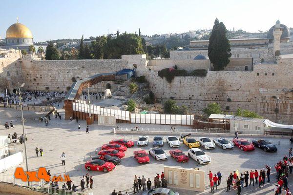 70 שנה של פרארי במסע מיוחד בארץ הקודש