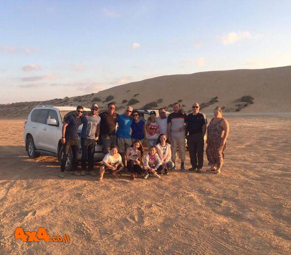 מסע חוצה נגב, סוכות 2017