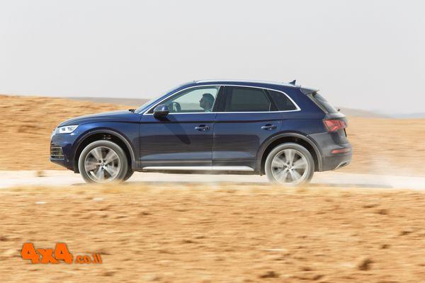 אנלוגי בעולם דיגיטלי - אודי  Audi Q5