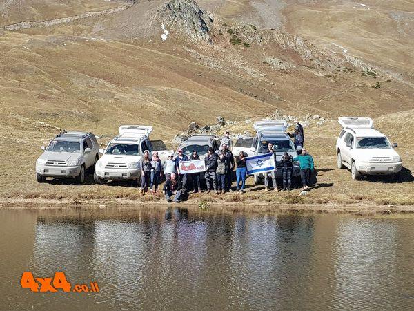 מסע קסום לרכס הקווקז - גיאורגיה, חורף 2017