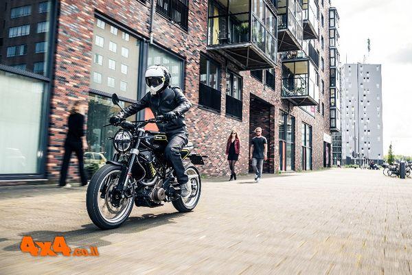 אופנועי הוסקוורנה עכשיו גם בכביש