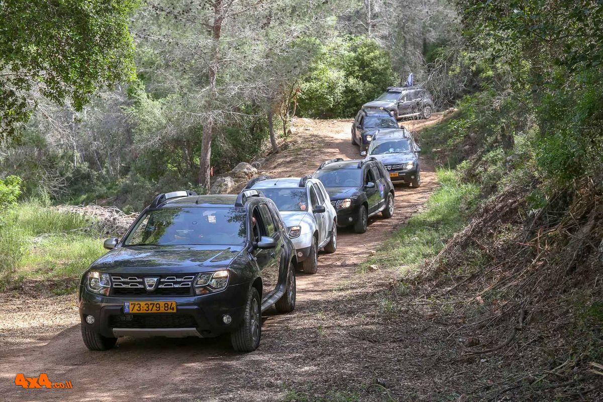 מועדון דאצ'יה - טיול פסח 2018 בהרי ירושלים