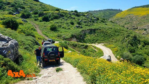 יומן מסע – ארבל ויודפת, חול המועד פסח סיבוב 1