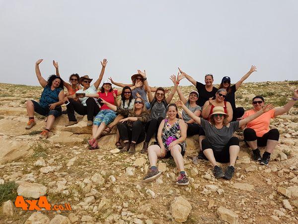 יומן מסע ג'יפים חוצה ישראל לנשים בלבד - ראשון מסוגו!