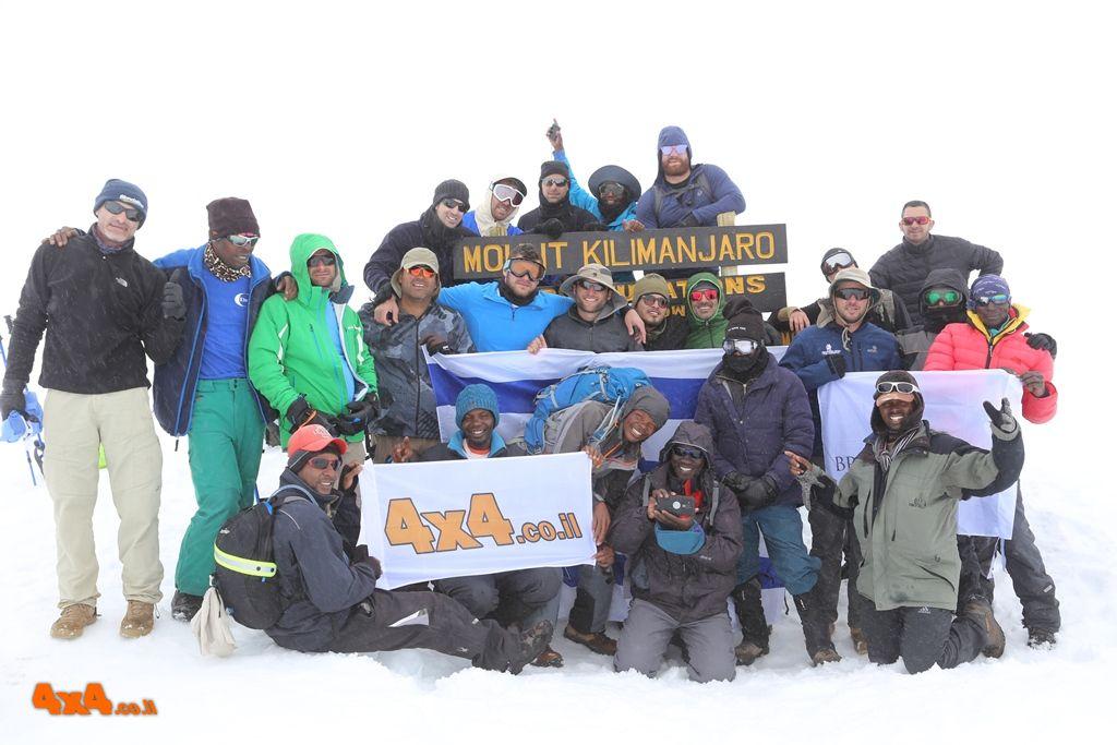 קילימנג'ארו טיפוס לפסגה - אחים לחיים, מאי 2018