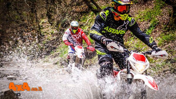 יומן מסע אופנועי אנדורו מודרך בצפון יוון - אפריל 2018