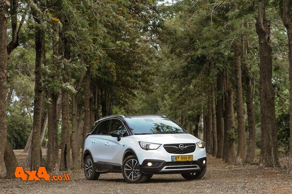 האיחוד האירופאי - אופל קרוסלנד Opel Crossland X