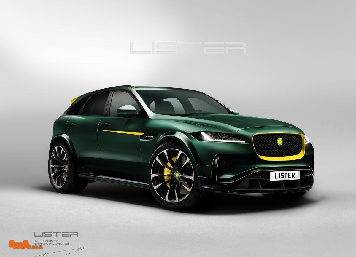 ליסטר LFT – האם זה יהיה רכב הפנאי המהיר בעולם?