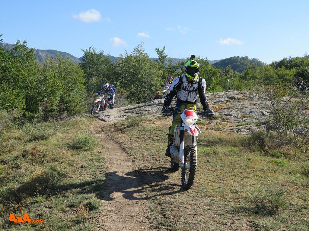 טיול אופנועים בצפון יוון