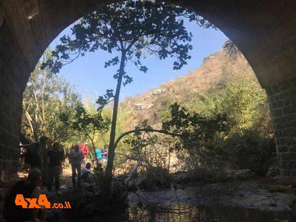 הגשר בתוואי ההטיה הסורית