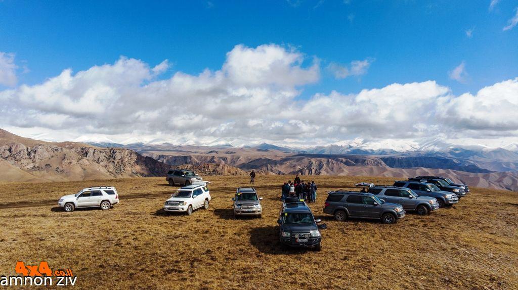 מסע קסום להרים השמימיים - קירגיזסטאן 2018