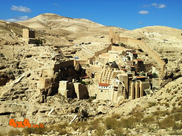 תצפית על מנזר המרסבא