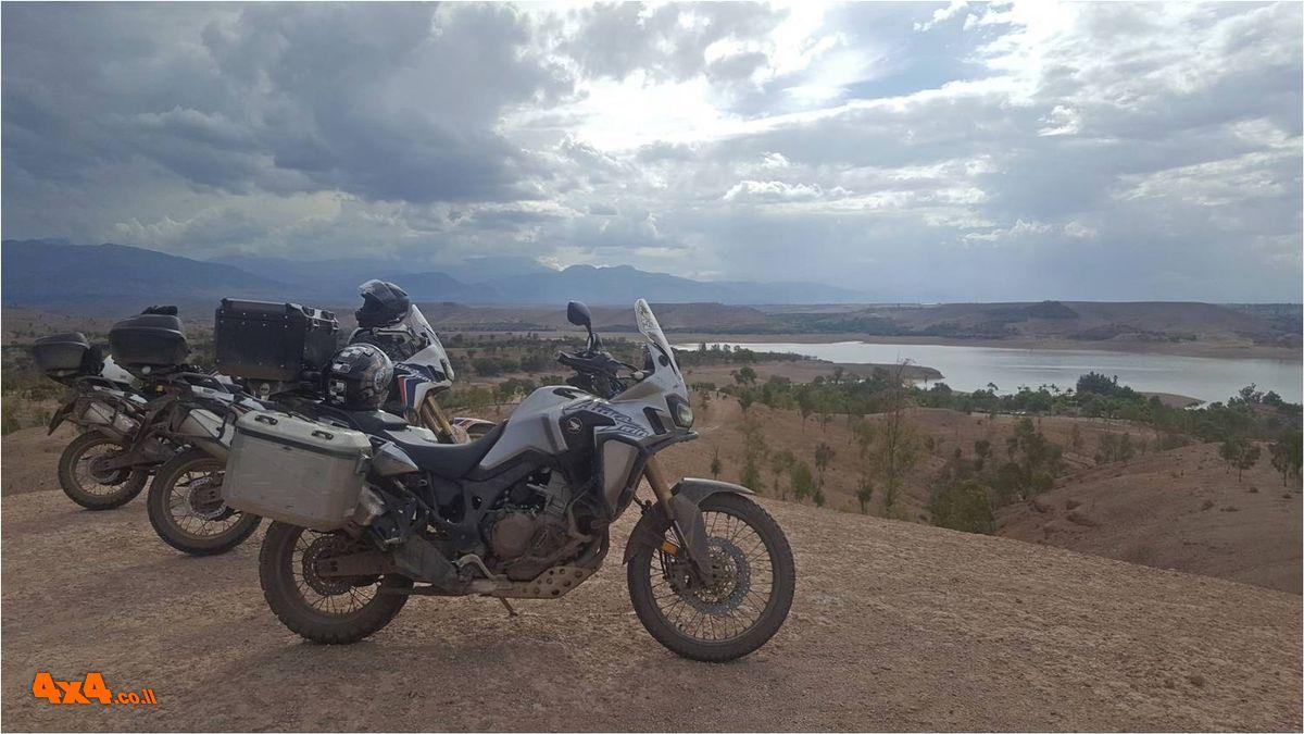 מסע אופנועים הרפתקני בכבישי מרוקו