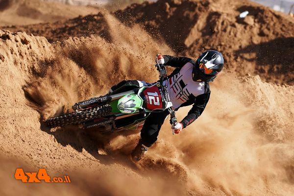 אליפות ישראל באופנועי מוטוקרוס באילת - טירוף כפול!