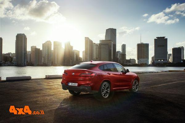 BMW משיקה בישראל את X4 החדש
