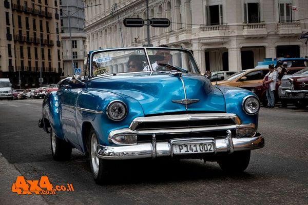 קובה - גן עדן למכוניות אספנות