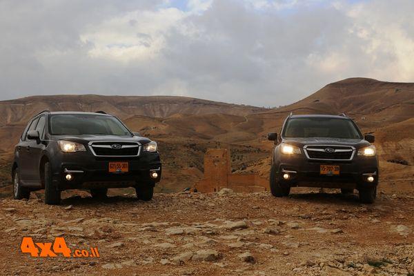 סובארו פורסטר 669 במדבר