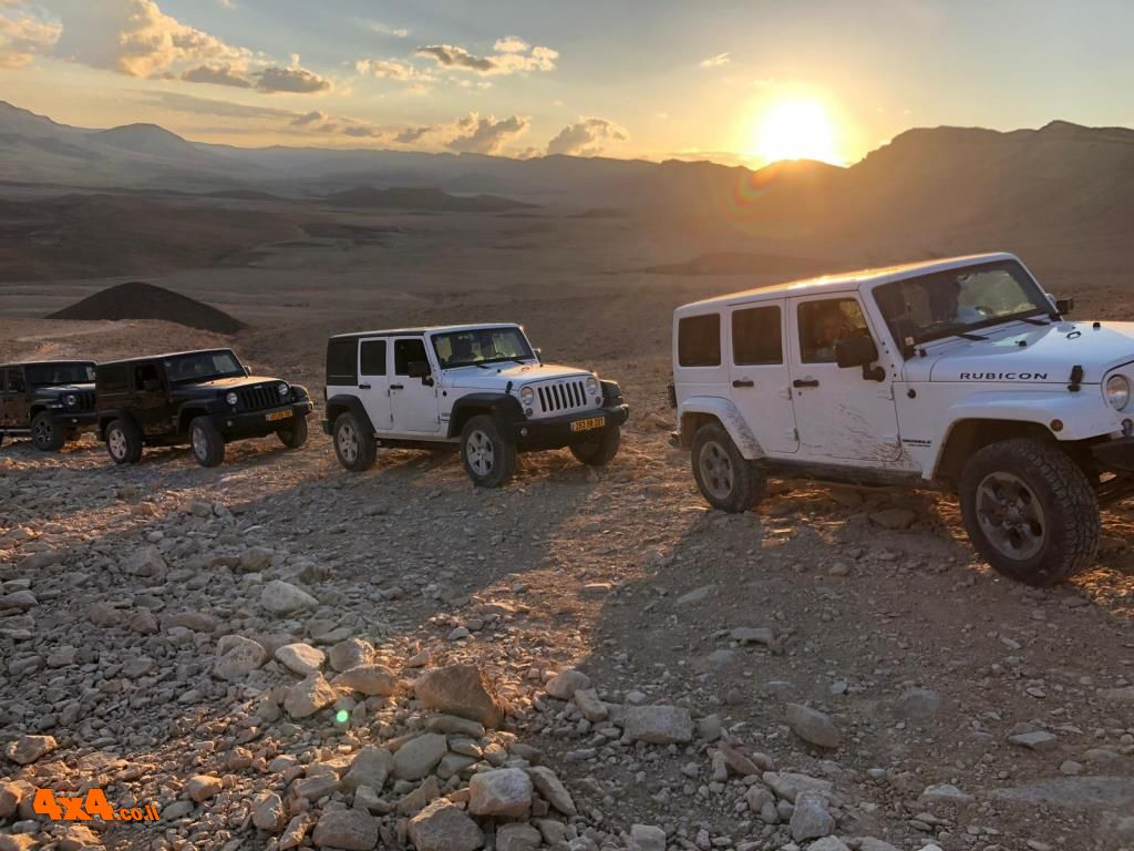טיול מועדון Jeep רנגלרים ורוביקונים – נחל ערוד ומעלה רמון 22.2.19
