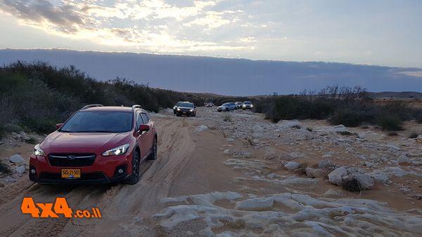 טיול מועדון סובארו דרייב משמורת חולות משאבים לנחל לבן 2/3/2019