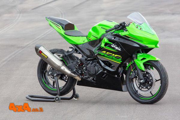 קאוואסאקי למרוצים Ninja 400 Racing Edition