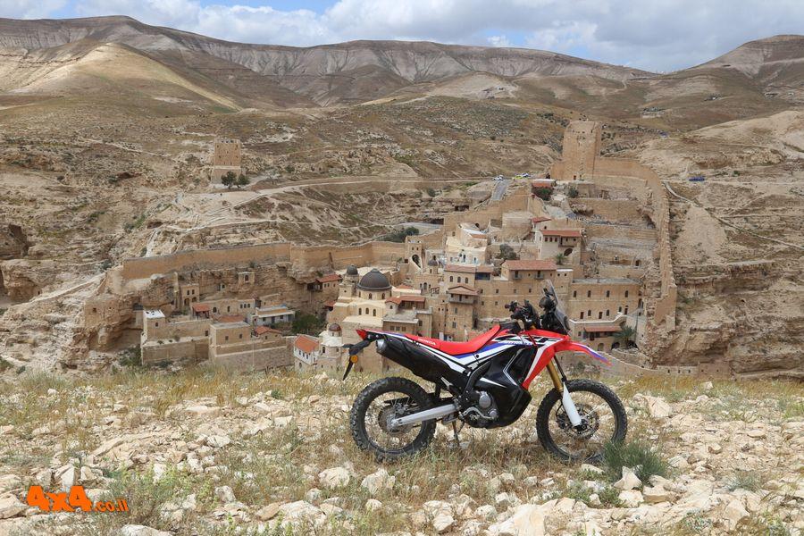 מסלול טיול הונדה סובב מרסבא במדבר יהודה