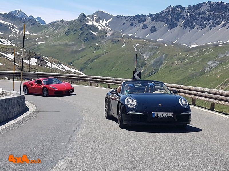 עשרת מעברי ההרים הטובים ביותר לנהיגה ספורטיבית בהרי האלפים באירופה