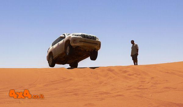 1350 קמ בהרי האטלס ומדבר הסהרה של מרוקו