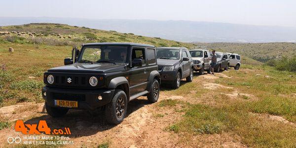 טיול מועדון סוזוקי בבקעת הירדן - אפריל 2019