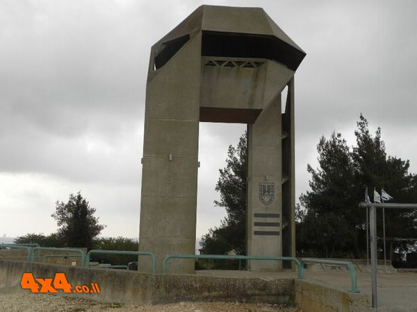ביקור באנדרטת לוחמי חטיבת הראל שבהר אדר