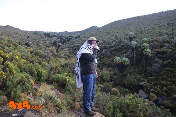 הורומבו 3720 מטרים - צולם ביום חול