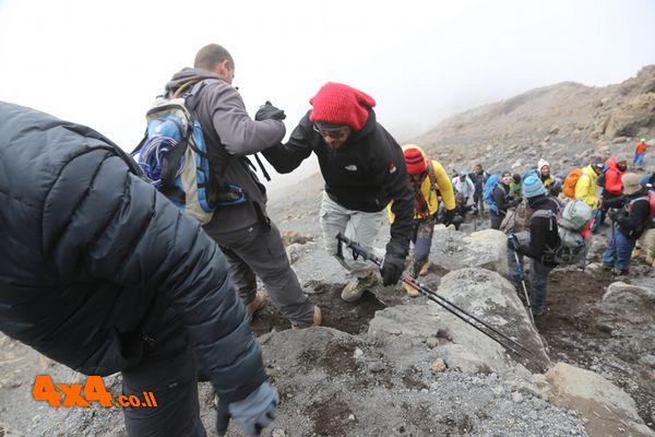 מטפסים את הסלעים של