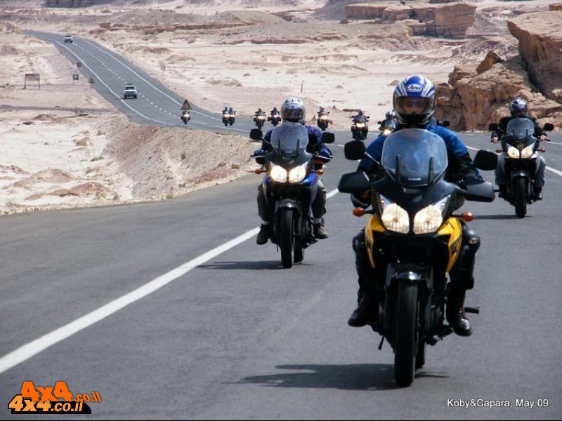 צבי יחזקאלי מספר על מסע האופנועים במצרים