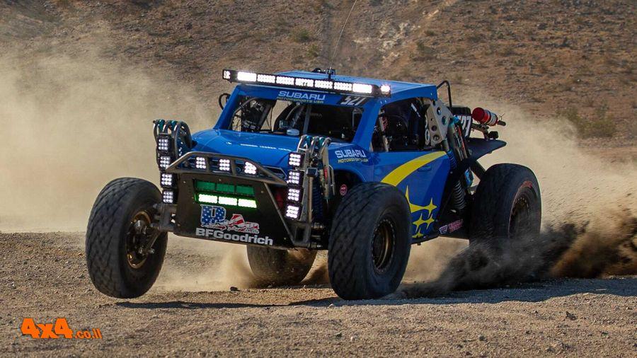 Subaru Crosstrek Desert Racer - כזה אנחנו רוצים