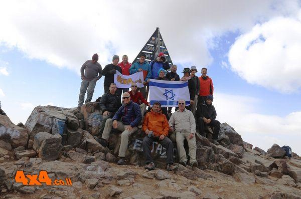 הטיפוס לטובקל - 4167 מטרים בפסגת הרי האטלס