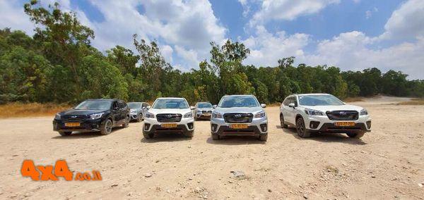 הדרכת נהיגת שטח למועדון סובארו דרייב ביער בן שמן 14/6/2019