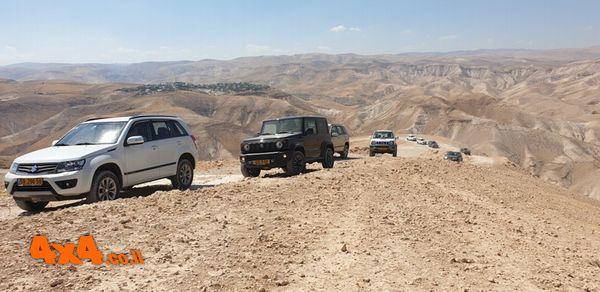 טיול רטוב של מועדון סוזוקי  למעיינות משפלת ירושלים ועד מדבר יהודה