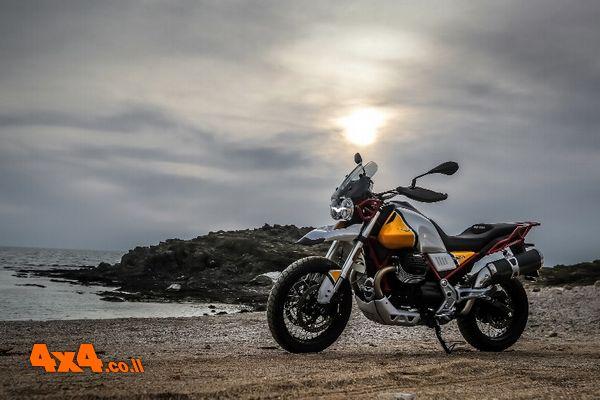 מוטוגוצי MotoGuzzi V85TT  – אופנוע תיור דו שימושי חדש בישראל