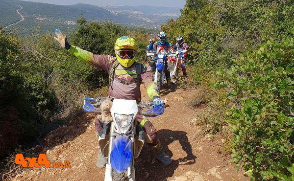 מהחרמון עד מצפה רמון: מסע עם יחידת אופנועני השטח של השומר החדש