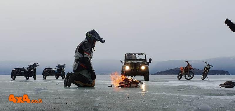 חוויה של פעם בחיים – מסע מוטורי משולב לימת הקרח שבסיביר