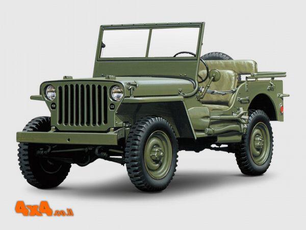 במהלך שנות המלחמה 1941 - 1945 הרכב נקרא וויליס MB