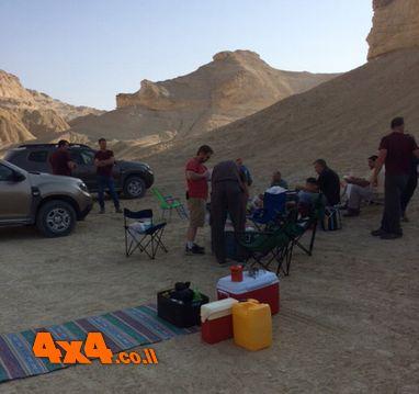 סיום בשעה הכי יפה במדבר - בין הערביים
