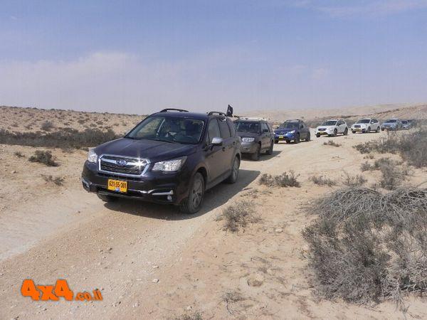 טיול יומיים במדבר של סובארו דרייב - חול המועד סוכות 2019