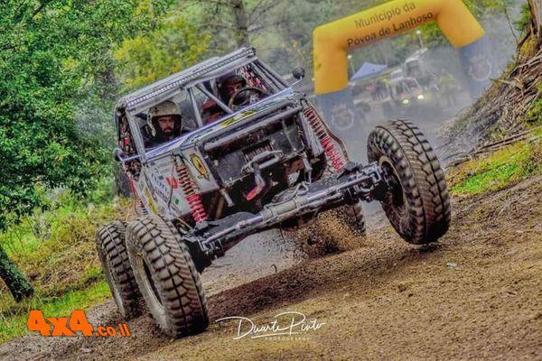 MH RACING  בבוץ הטובעני באליפות האי האיברי בפורטוגל