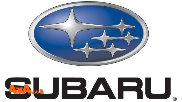 הלוגו של חטיבת כלי הרכב סובארו - לוגו חמשת הכוכבים של הקונצרן פוג'י תעשיות כבדות